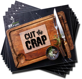 Cut The Crap - Cover Web Square